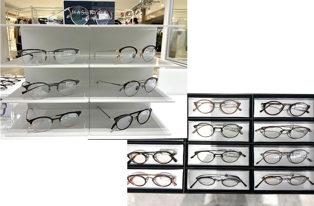 増永眼鏡の商品入荷致しました